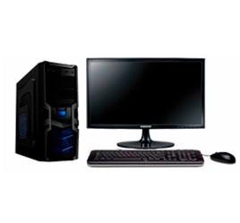 equipo pc  core i5 de 7a  3,0 ghz con monitor 20 hdmi  / 8gb