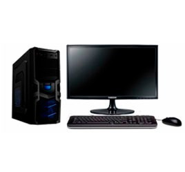equipo pc  core i5 de 7a  3,0 ghz con monitor 24 hdmi  / 8gb