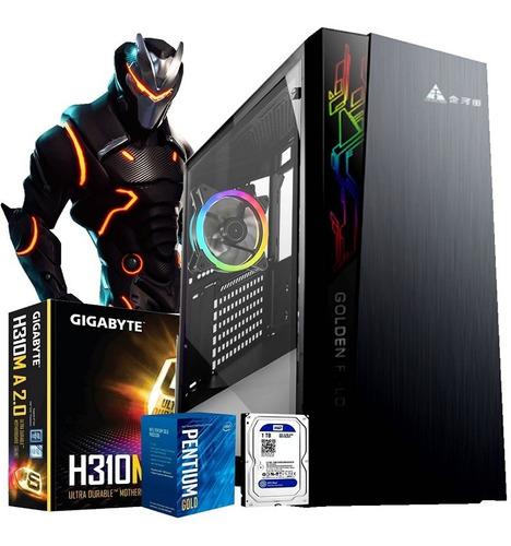 equipo pc gamer intel core i3 9100f 8gb 1tb gt 1030 2gb wifi