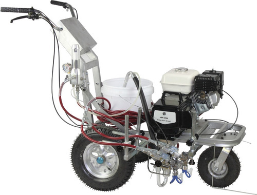 equipo pintura airless demarcación 5.5 hp 5.0 l/min  dp6335l