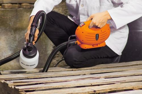 equipo pistola pintar electrico kushiro k001 600w respirador