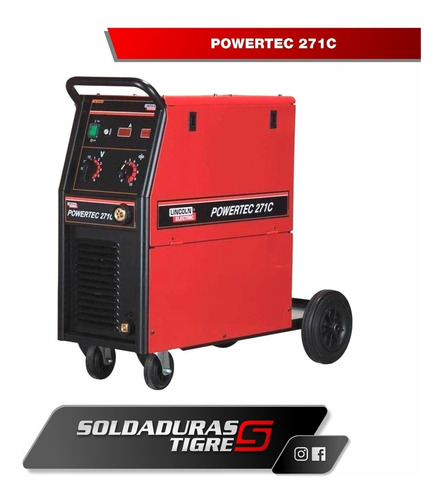 equipo powertec 271 c lincoln electric