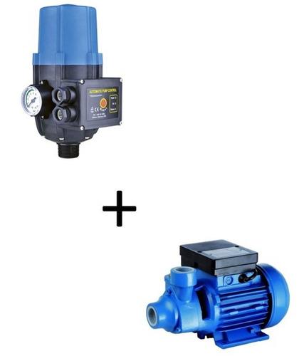 equipo presurizador motorarg presscontrol + bomba 0,5hp