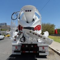 equipo revolvedor de concreto btr-400 de 4 mts3
