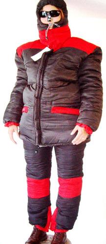 equipo ropa nieve alta montaña parka proteccion 30 bajo cero