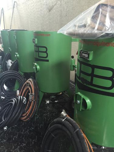 equipo sand blast sand blaster olla de 270 kg pedido