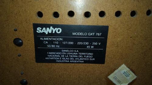 equipo sanyo gxt 767