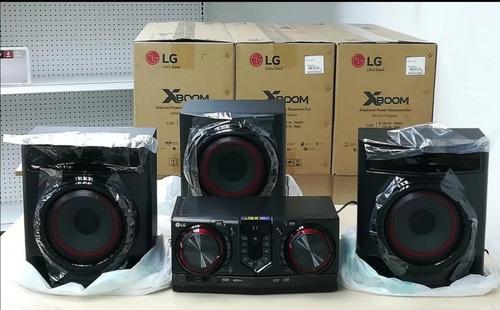 equipo sonido lg cj45 8100 watts bluetooth usb cd