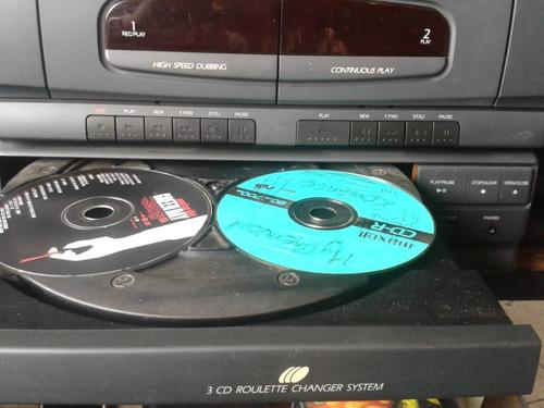 equipo sonido mini componente samsung plato cd casette am/fm