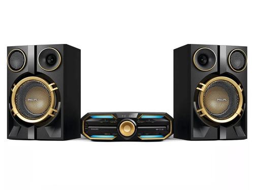 equipo sonido philips fx50x bluetooth 1200w nfc usb radio