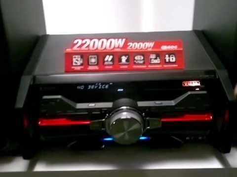 equipo sony genezi nuevo 2000 w