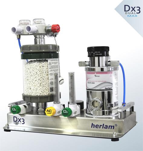 equipos anestesia inhalatoria respirador herlam calibración