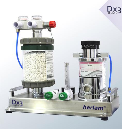 equipos anestesia inhalatoria veterinaria respirador herlam