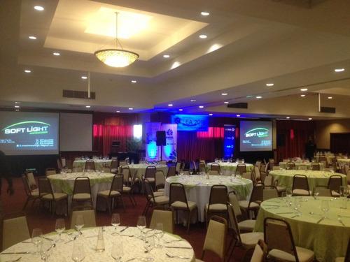 equipos audiovisuales para sus eventos