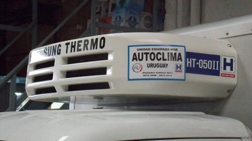 equipos de frío para camiones y camionetas y electricos