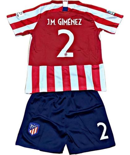 equipos de fútbol para niños completos camiseta y short