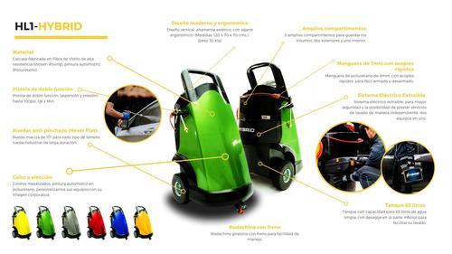 equipos de lavado móvil de vehículos / washmen