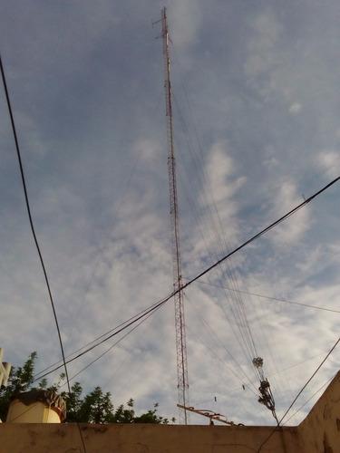 equipos de radio fm: cable coacxial 1/2 pulgada. 30m