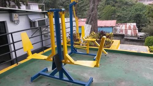 equipos ejercicios, parques biosaludables superbarras , etc