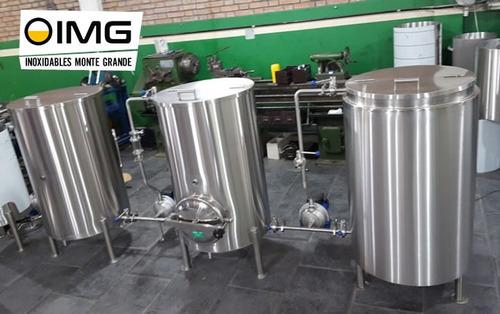 equipos elaboracion de cerveza artesanal fabrica 500 litros