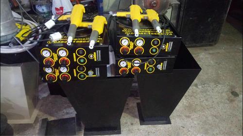 equipos electroestáticos pintura en polvo epoxi
