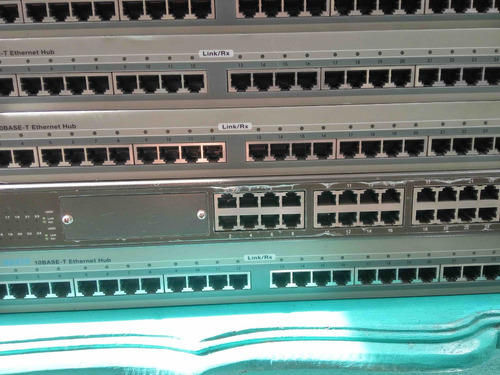 equipos links ethernet hub