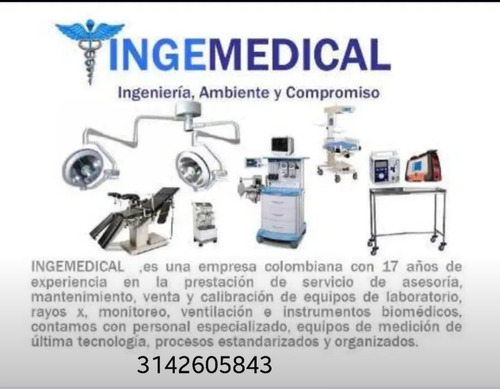 equipos médicos verificación y mantenimiento