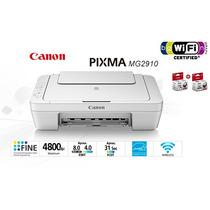 Impresora Canon Pixma Mg2910 Multifun. Color Inyeccion Wifi