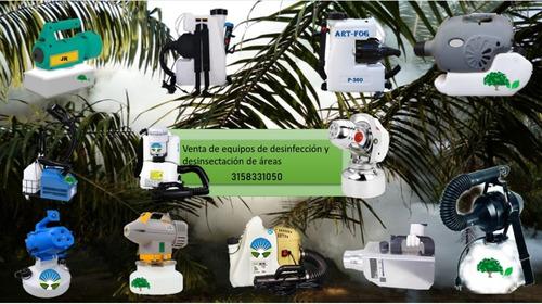 equipos para desinfeccion, oficinas, carros, viviendas ulv