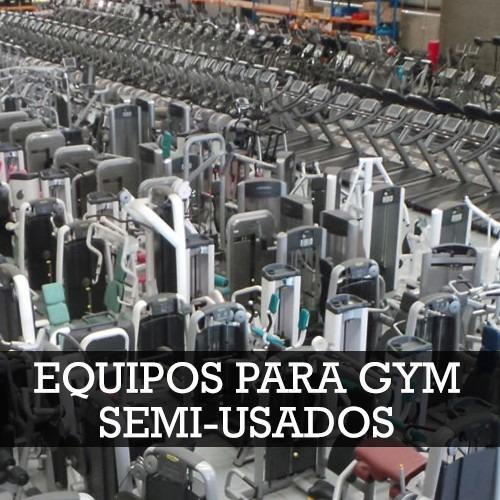 Equipos para gimnasios semi usados 60 ahorro b for Equipo para gym
