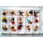 Pesca Con Mosca Pack De 30 Moscas + Caja De Regalo
