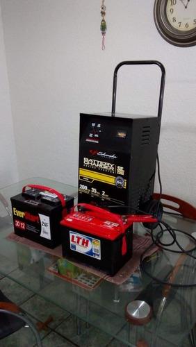 equlpo completo para reparar baterías   automotrices