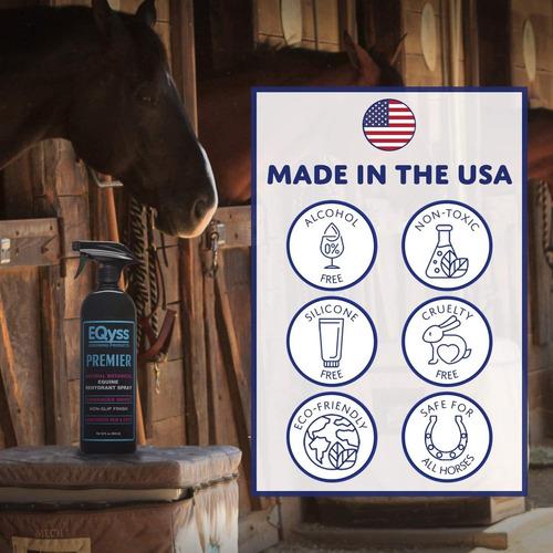 eqyss premier equine spray - hidratante para abrigo, me