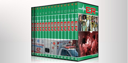er emergencias coleccion completa - temporadas dvd