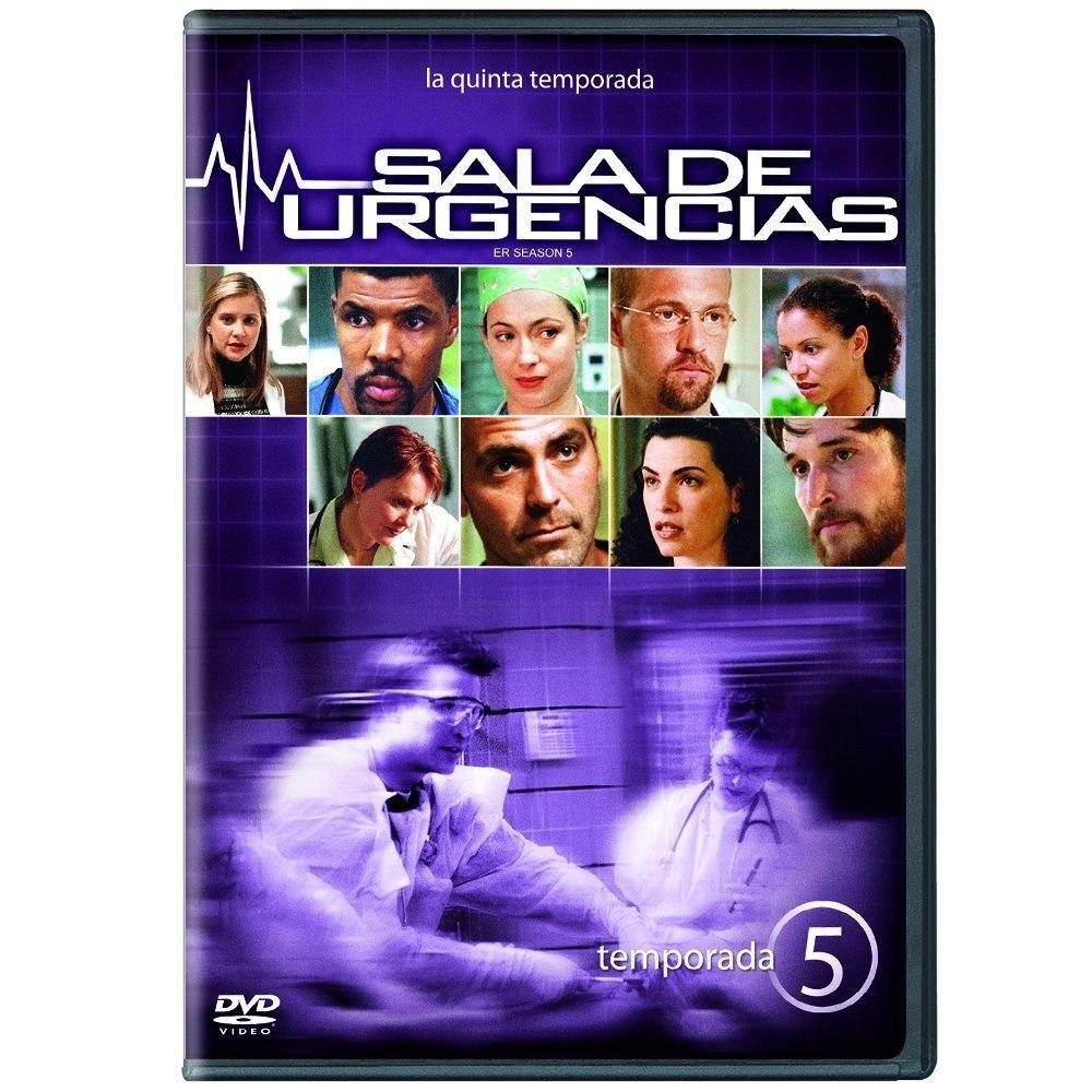 Sala De Urgencias Serie De Tv ~ Sala De Urgencias Temporada 5 Cinco Serie De Tv En Dvd  $ 36900 en