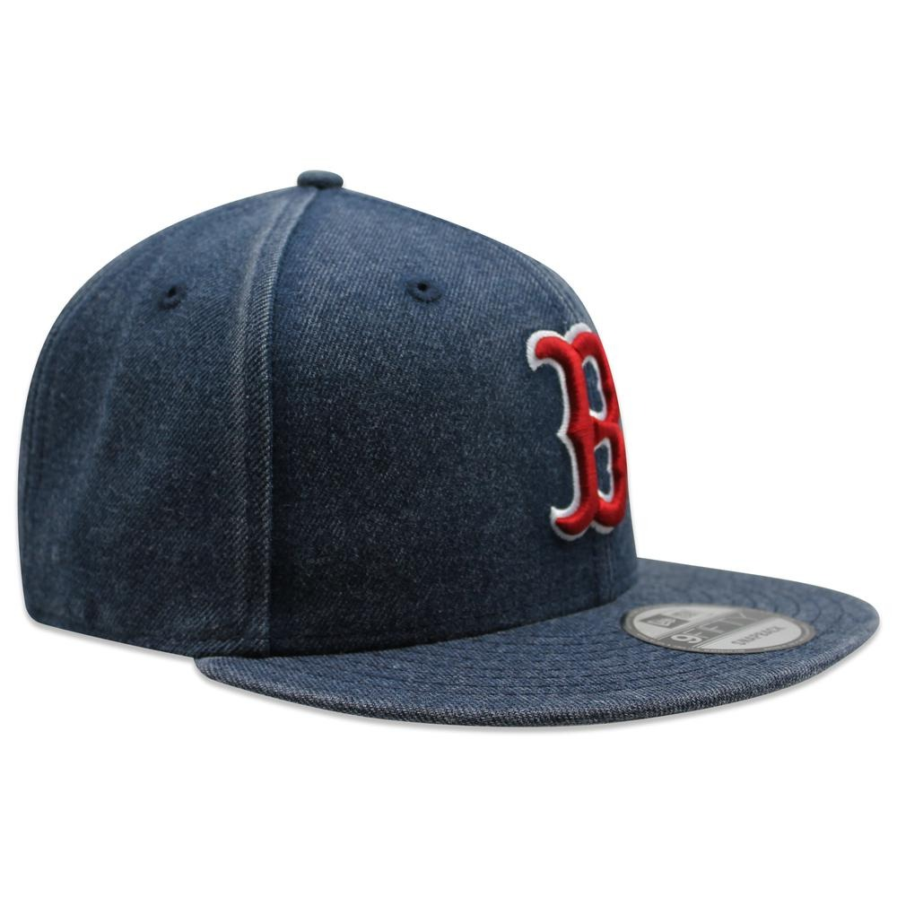 Gorra New Era 9 Fifty Mlb Red Sox Rugged Heather Azul -   699.00 en Mercado  Libre 38677a9f1a3