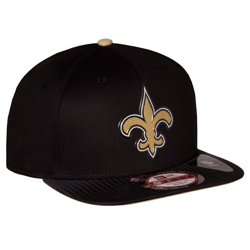 dd1d55e156783 Carregando zoom... boné new era 9fifty official draft new orleans saints 80% off