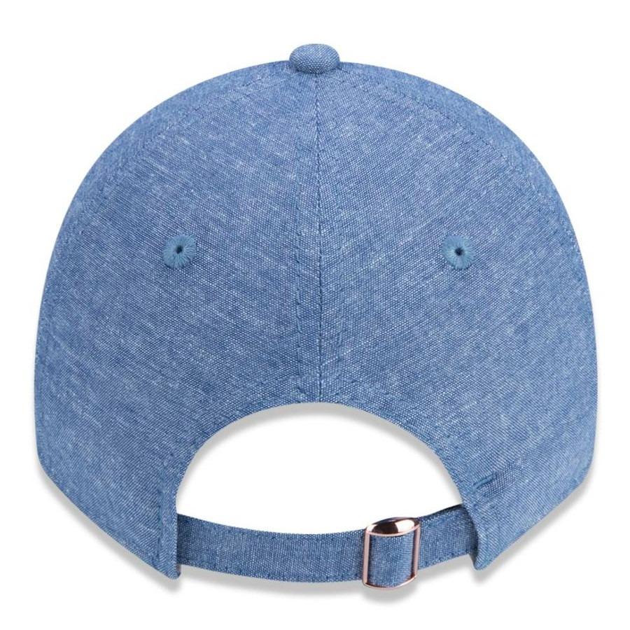 Boné New Era 920 New York Yankees Aba Curva Azul Original - R  129 ... 303e9d0208a