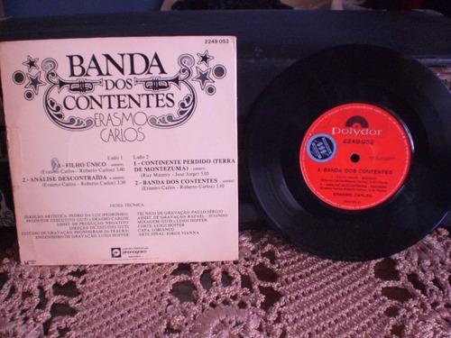 erasmo carlos compacto duplo banda dos contentes 1977  disco