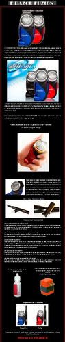erazor fuzion - rasuradora circular para depilación