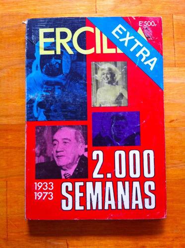 ercilla 2000 semanas- año 1933 a 1973