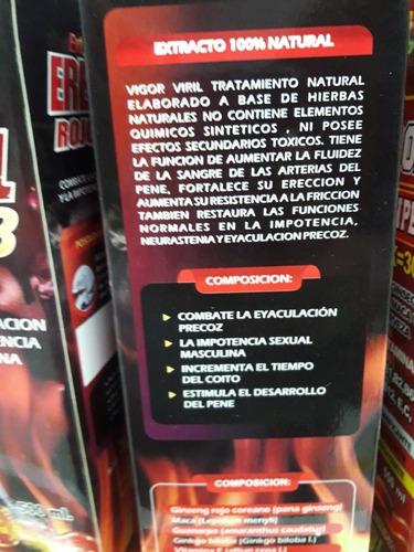 erectol rojo kh3 combate  eyaculación precoz e impotencia