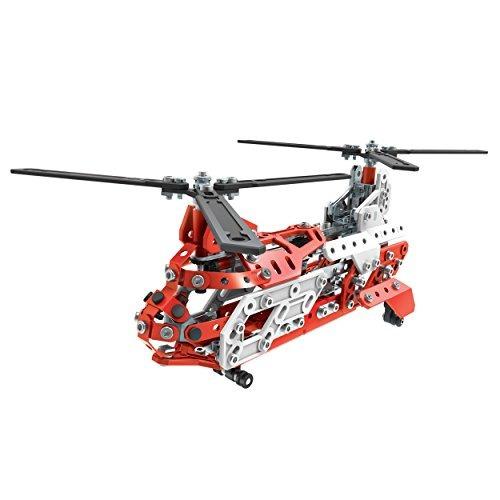 erector de meccano, aerial rescue 20 flight model building