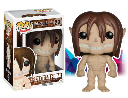 eren pop funko attack on titan form jeager anime gennial