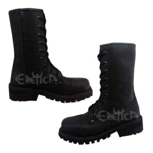 eretica ropa dark- bota corta militar-gotico-metal,punk