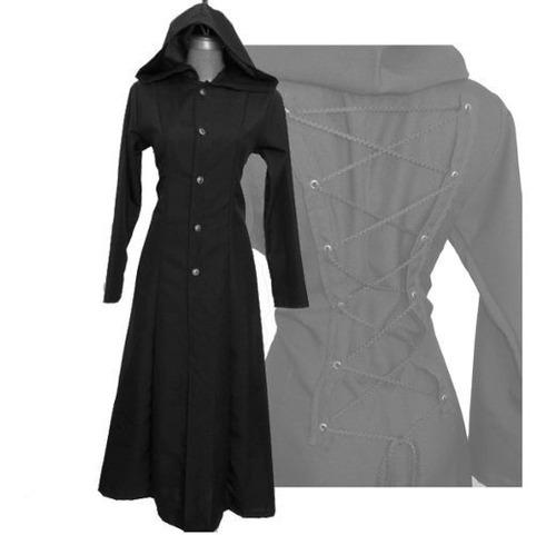 eretica ropa dark-gabardina botones gorro-gotico-rock
