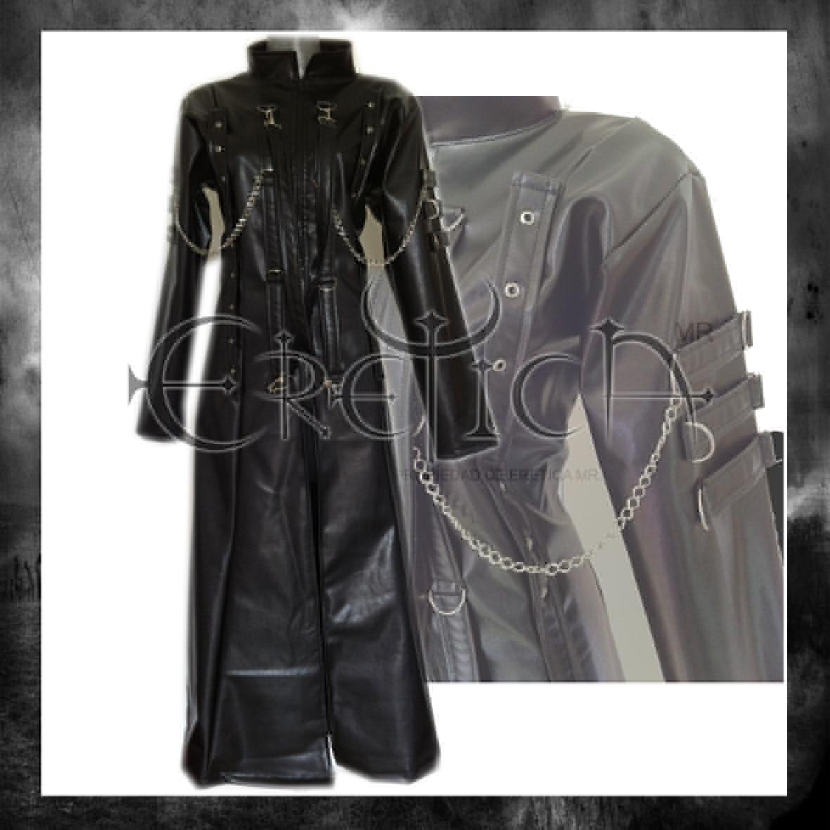 b4347cd10f14d eretica ropa dark- gabardina vinipiel tiras cadenas-gotico. Cargando zoom.