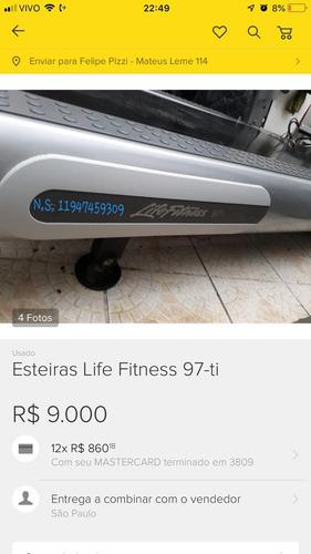 ergometrica fitness esteira