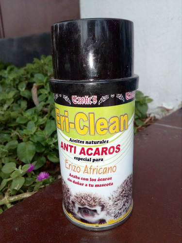 eri clean anti acaros 120 ml en spray y 1 shampuas 250 ml,