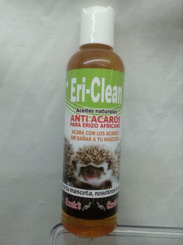 eri clean anti acaros erizo africano natural 120 ml en spray